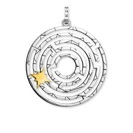 Thomas Sabo PE851-849-14 Pendant Labyrinth with Star