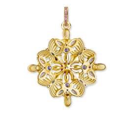 Thomas Sabo PE877-996-7 Anhänger Amulett Kaleidoskop Schmetterling goldfarben