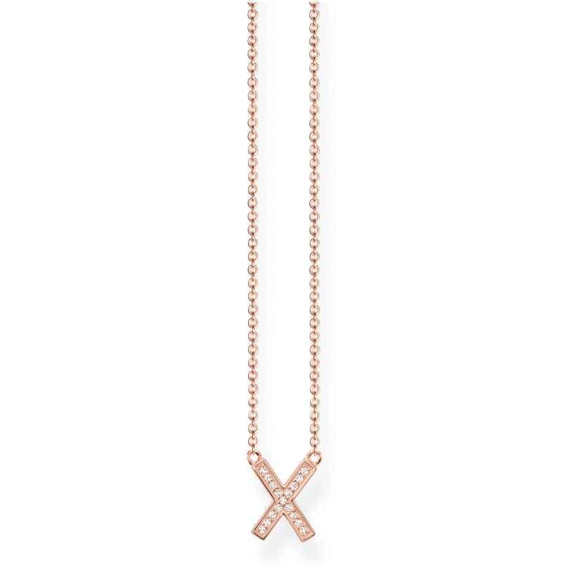 Thomas Sabo KE1657-416-14 Halskette X Rosé 4051245315295