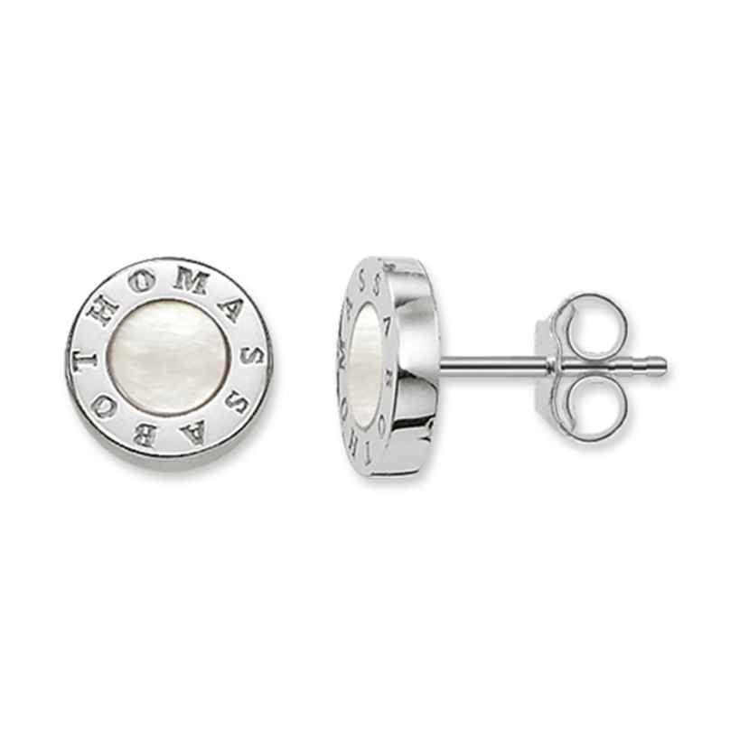 Thomas Sabo H1859-029-14 Damen-Ohrringe Classic Weiß 4051245158403