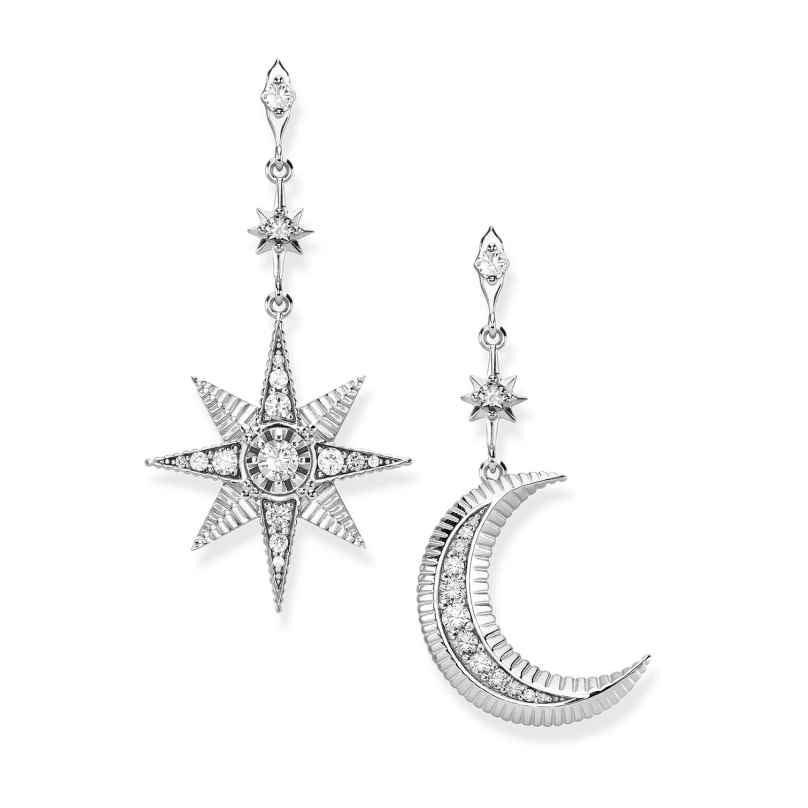 Thomas Sabo H2026-643-14 Ladies´ Earrings Royalty Star & Moon 4051245422047