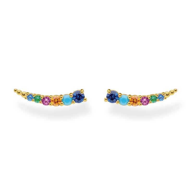 Thomas Sabo H2158-488-7 Ladies' Earrings with colourful Stones 4051245491364