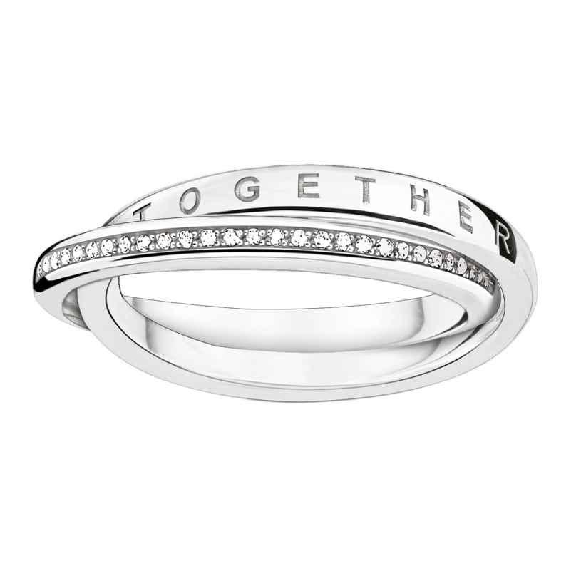 Thomas Sabo D_TR0018-725-14 Damen-Ring Together Forever