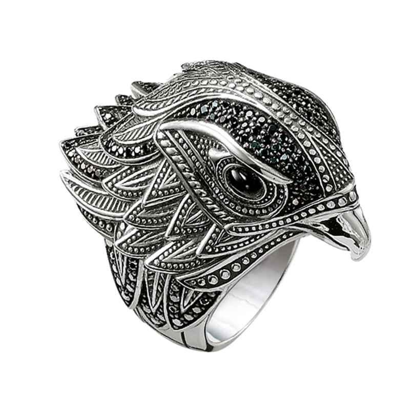 Thomas Sabo TR2066-641-11 Silber-Ring Falke