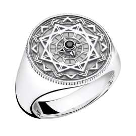 Thomas Sabo D_TR0041-714-11 Unisex Ring Vintage Compass Silver