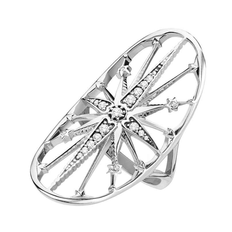 Thomas Sabo TR2222-643-14 Damen-Ring Royalty Stern
