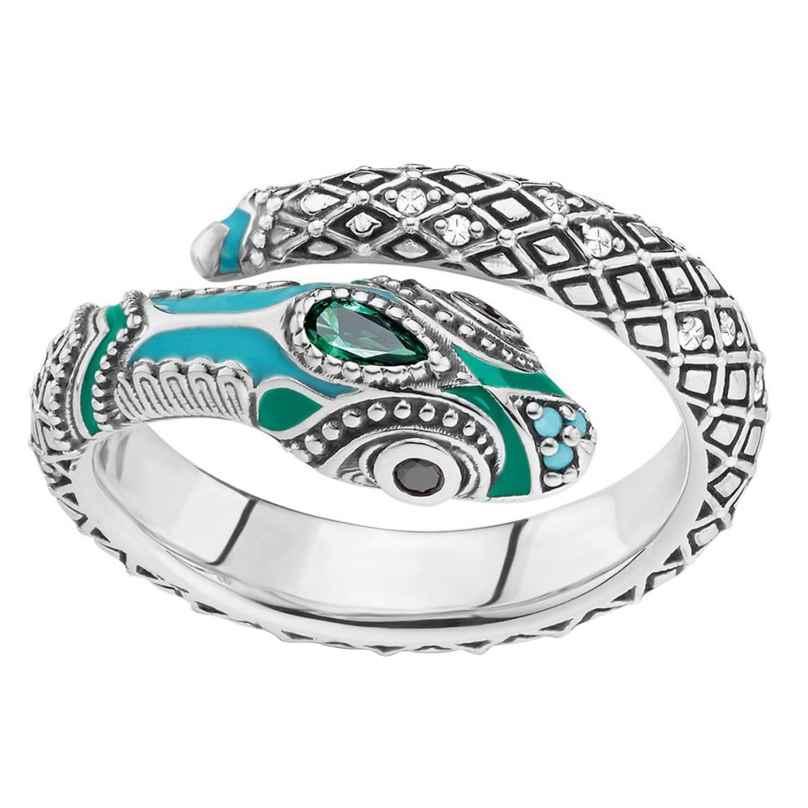 Thomas Sabo TR2180-845-17 Damen-Ring Schlange