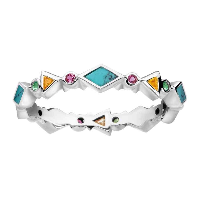 Thomas Sabo TR2229-984-7 Ladies´ Ring Colourful Stones