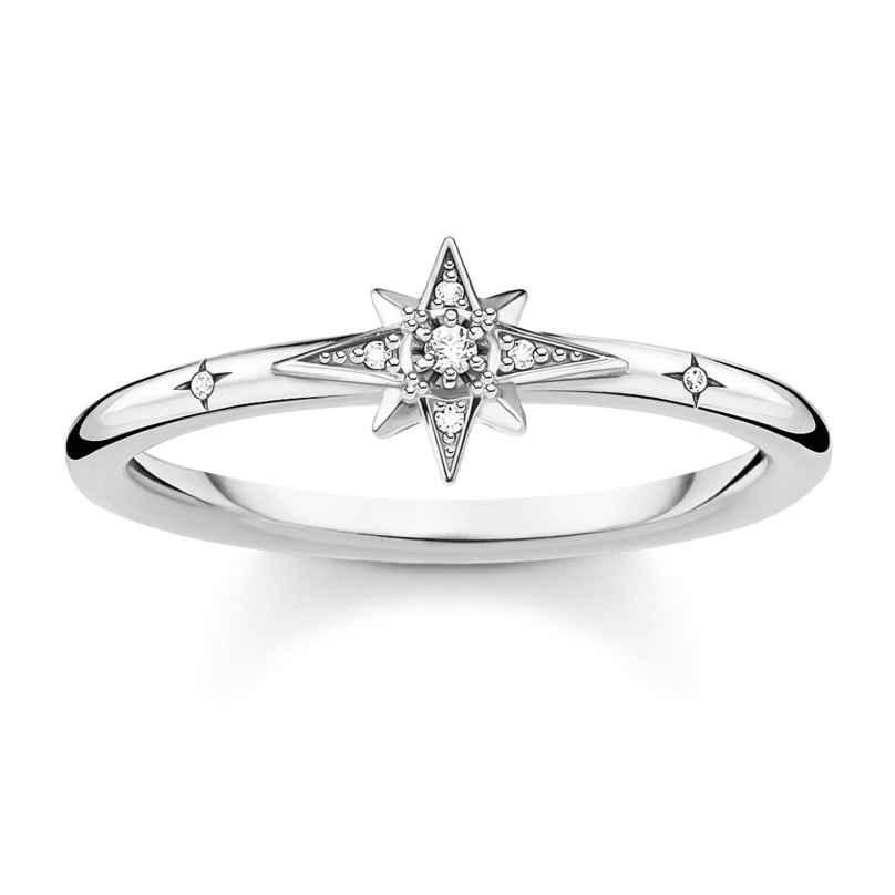 Thomas Sabo TR2317-051-14 Silver Ring for Ladies Star