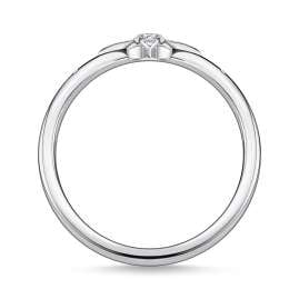 Thomas Sabo TR2317-051-14 Silver Ring for Ladies Star