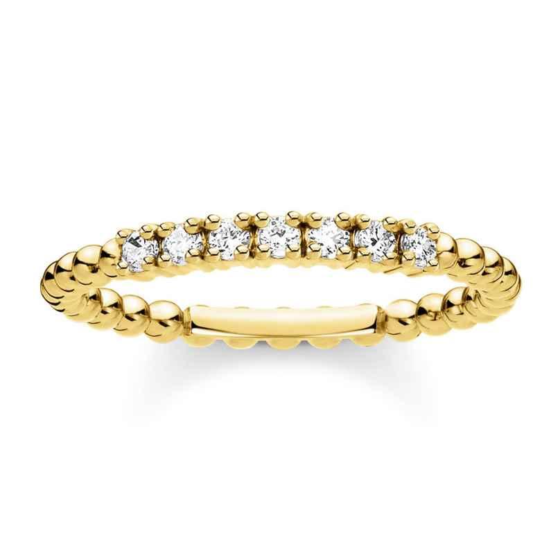 Thomas Sabo TR2323-414-14 Ladies´ Ring Balls with white Stones