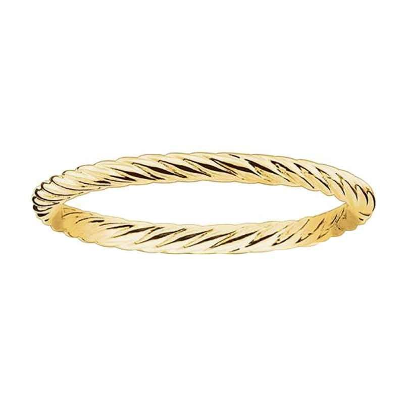 Thomas Sabo TR2121-413-12 Ring für Damen goldfarben gekordelt