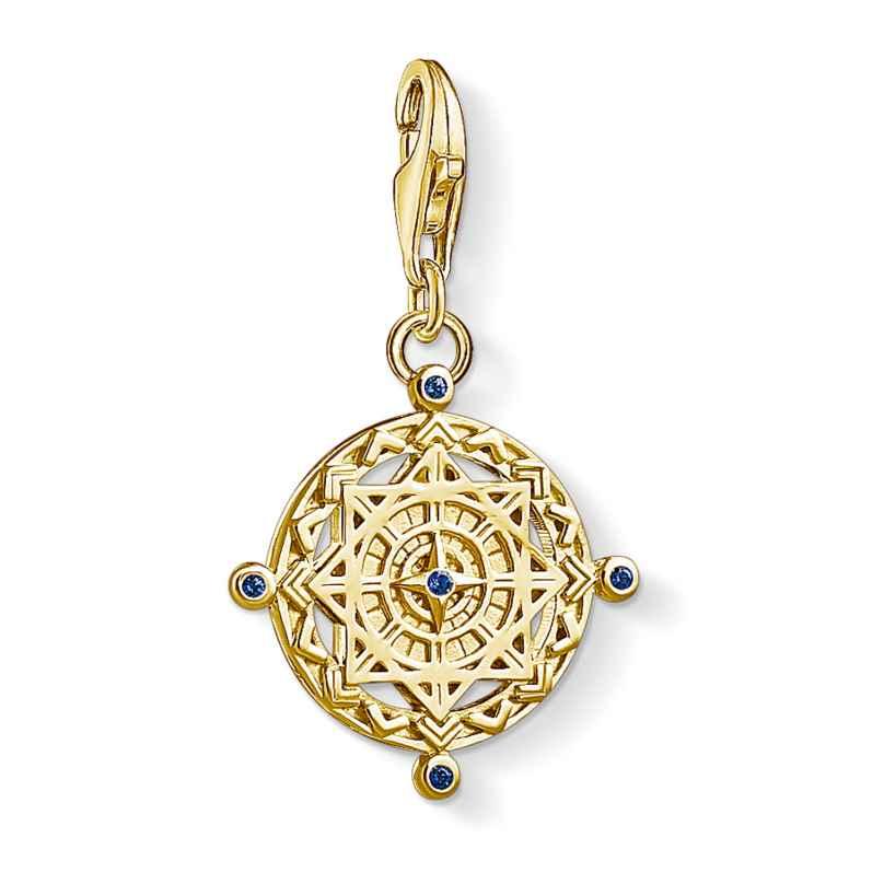 Thomas Sabo 1662-922-39 Charm-Anhänger Kompass vergoldet 4051245373578