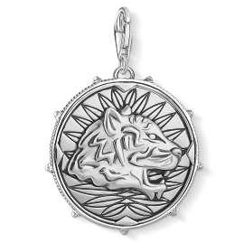 Thomas Sabo 1699-637-21 Charm-Anhänger Coin Drache & Tiger