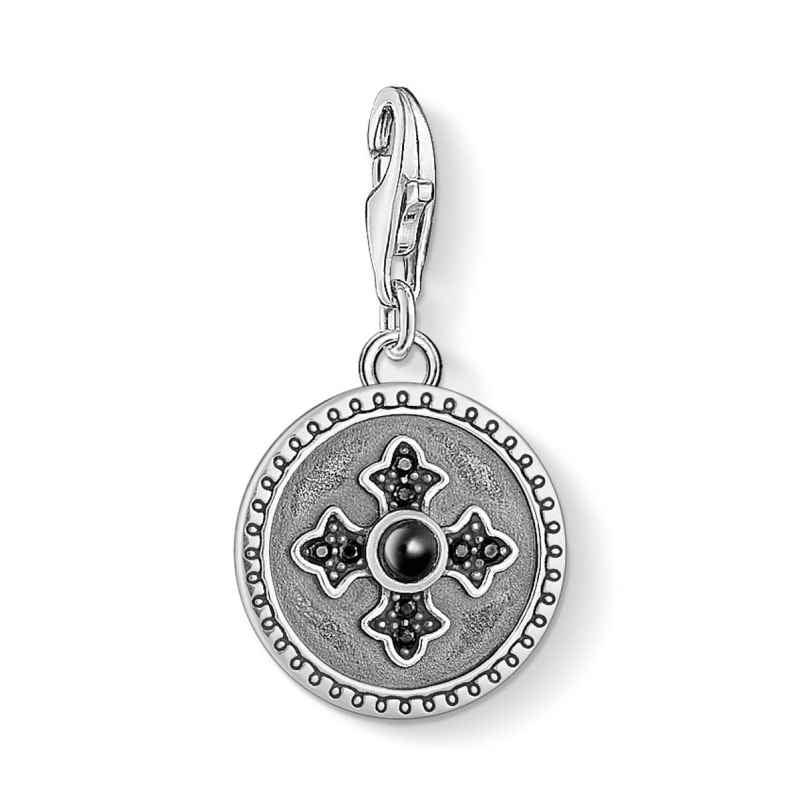 Thomas Sabo 1704-641-11 Charm Pendant Coin Royalty Cross 4051245403473
