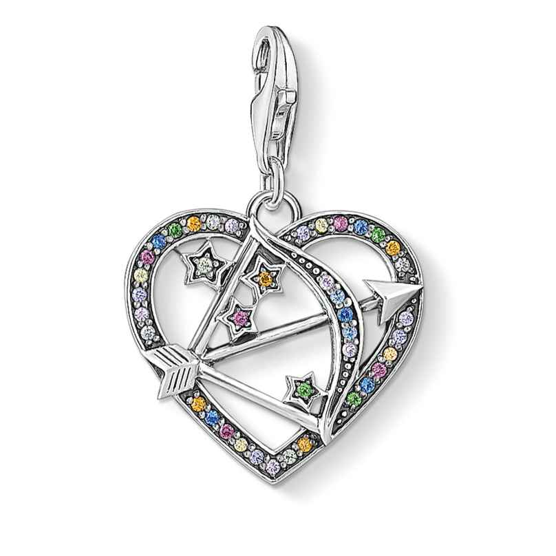 Thomas Sabo 1822-318-7 Charm Pendant Cupid's Arrow Silver 4051245456585