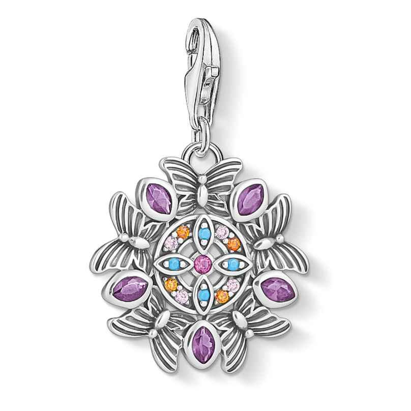Thomas Sabo 1827-477-7 Charm-Anhänger Amulett Kaleidoskop Silber 4051245477313