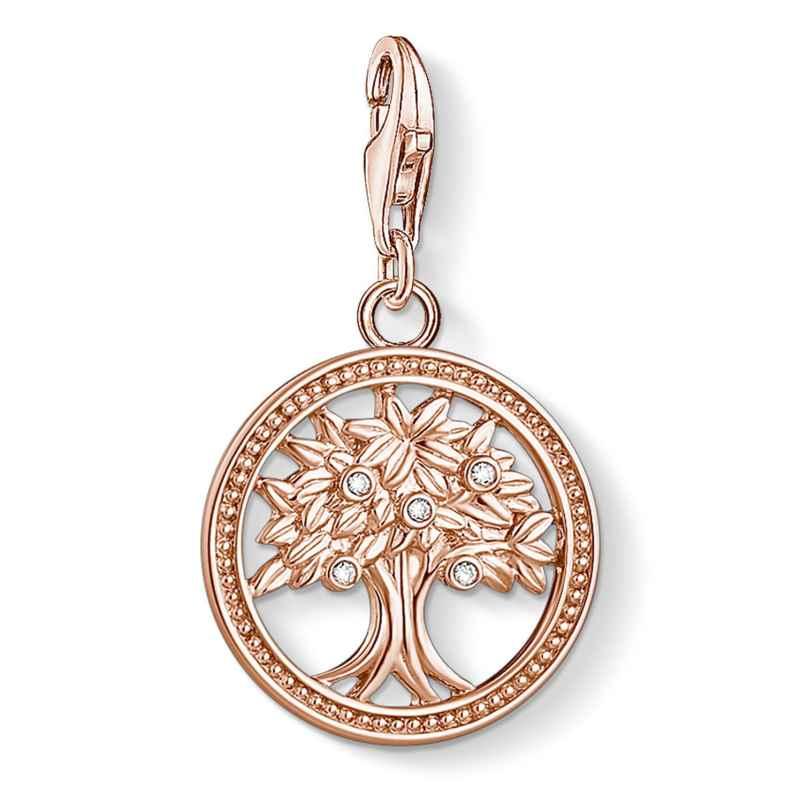 Thomas Sabo 1861-416-14 Charm-Anhänger Lebensbaum Silber roségold 4051245488821