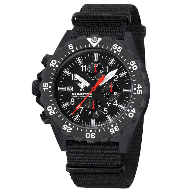 KHS KHS.SH2CF.NB Men's Watch Shooter MKII Chronograph 4260654090468
