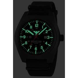 KHS INCBS.NB Herrenuhr Inceptor Black Steel