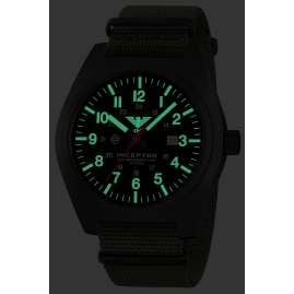 KHS INCBS.NO Men's Watch Inceptor Black Steel
