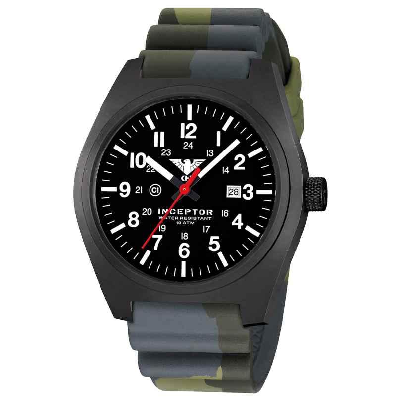 KHS INCBS.DC3 Men's Wristwatch Inceptor Black Steel 4260446984074