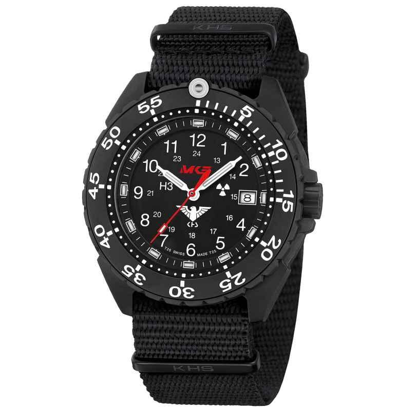 KHS ENFBTF.NB Herren-Armbanduhr Titan Enforcer Schwarz 4260654094510