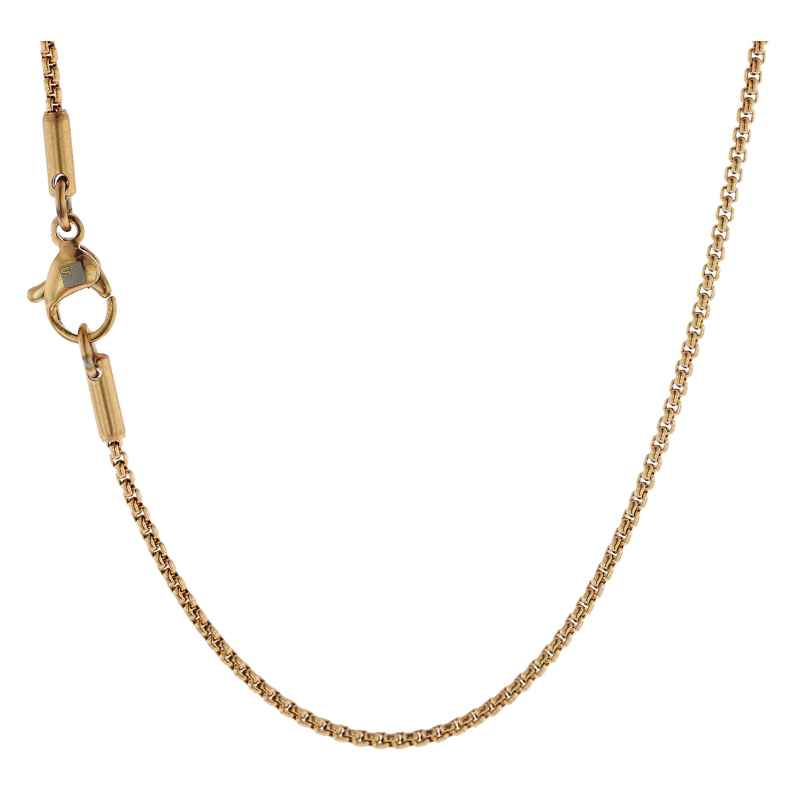 Traumfänger SC061G Halskette Edelstahl vergoldet