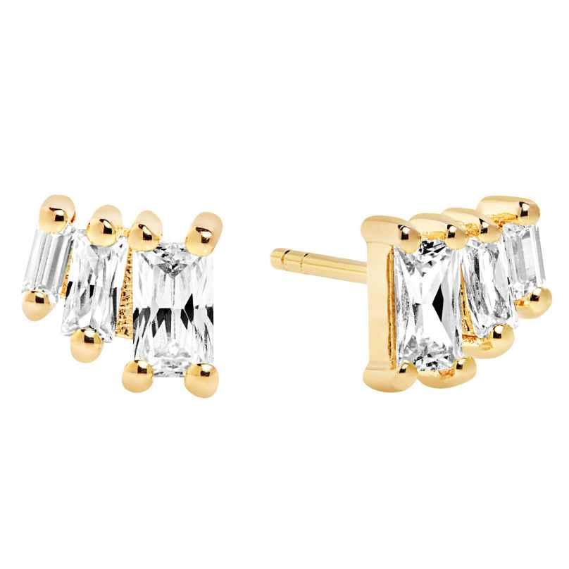 Sif Jakobs Jewellery SJ-E1045-CZ(YG) Ohrringe Antella Tre 5710698049957