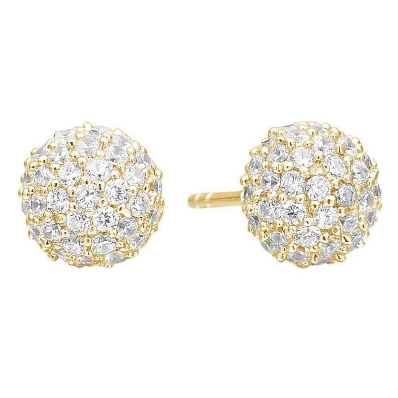 Sif Jakobs Jewellery SJ-E2104-CZ(YG) Ohrringe Bobbio 5710698050441