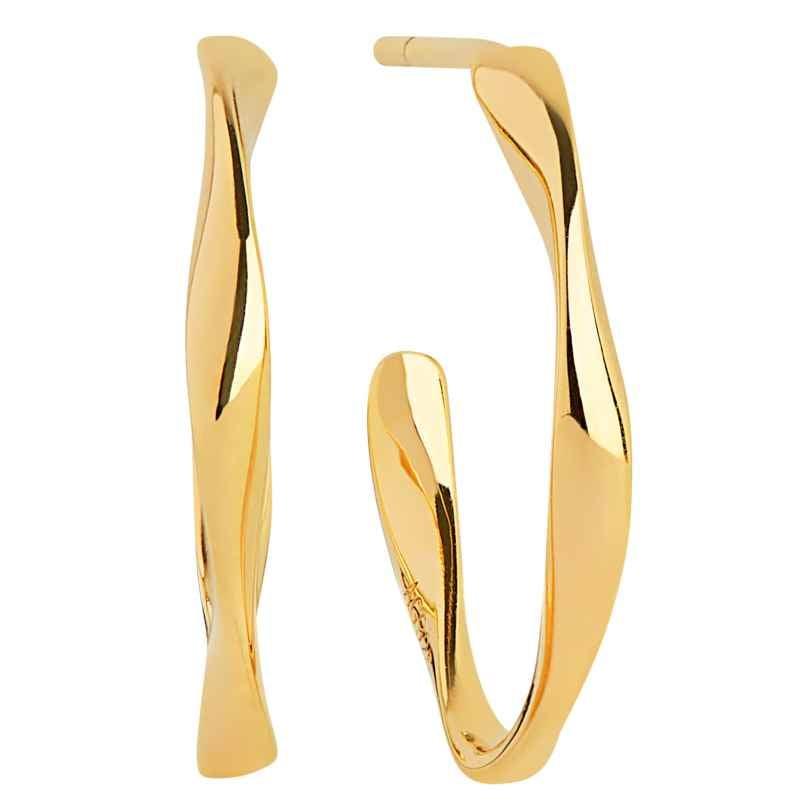 Sif Jakobs Jewellery SJ-E3004-(YG) Ohrringe Creolen Cetara Piccolo Pianura 5710698066145