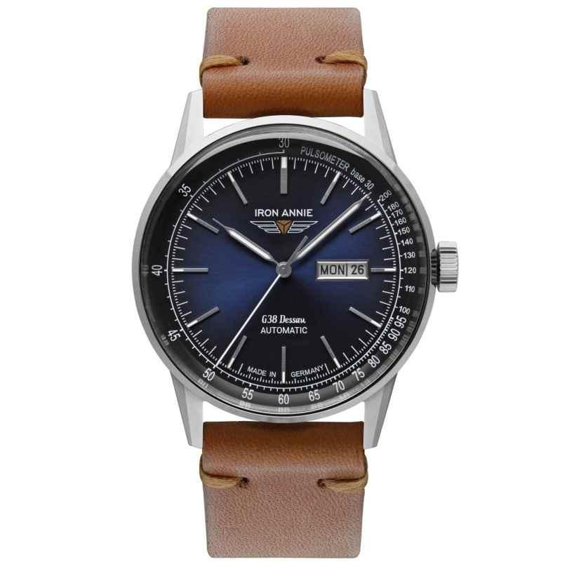 Iron Annie 5366-3 Men's Automatic Watch G38 Dessau DayDate 4041338536638