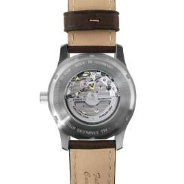 Iron Annie 5662-2 Automatic Men's Watch D-Aqui Brown Leather Strap