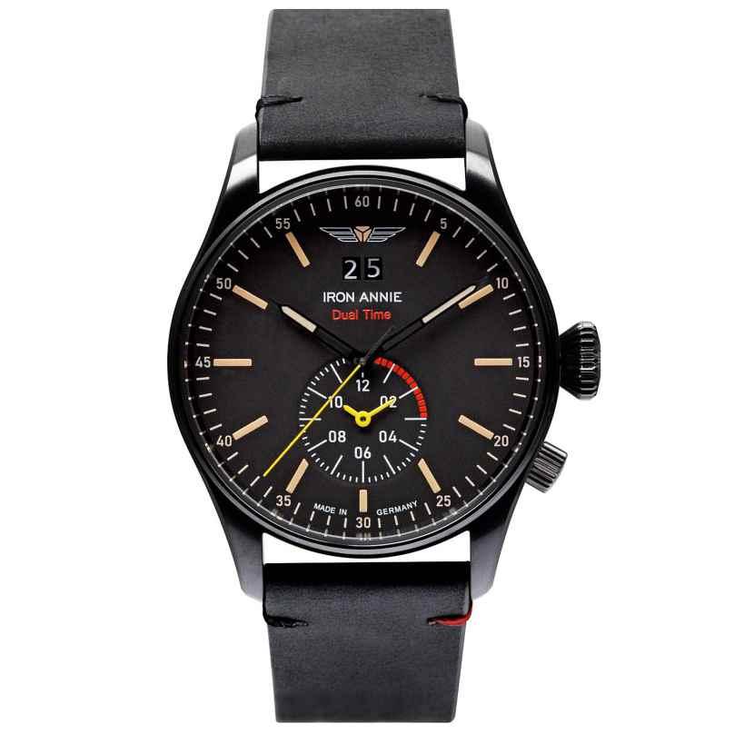 Iron Annie 5144-2 Men's Watch FC Dual Time Black 4041338514421