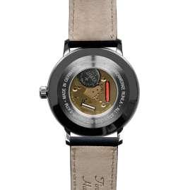 Iron Annie 5042-3 Herrenuhr Bauhaus 1 Monotimer Dunkelblau