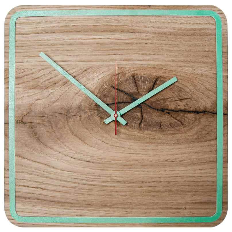 Huamet U5300 Holz-Wanduhr Eiche Alone 4260497085812