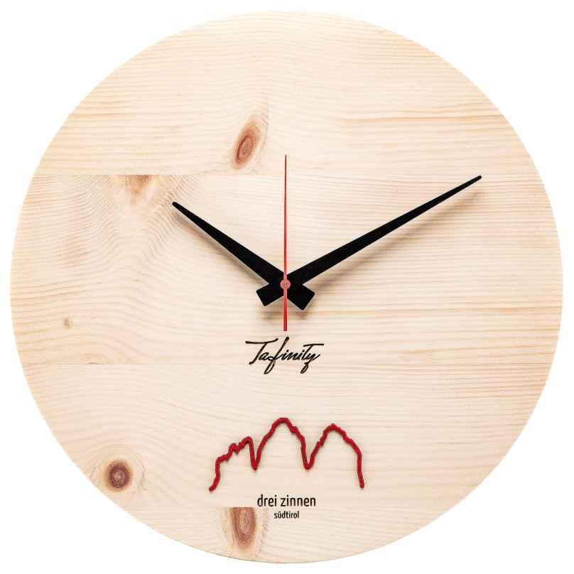 Huamet CA40-A-06 Wall Clock Bergtouhr 3 Zinnen Pine 4260497088783