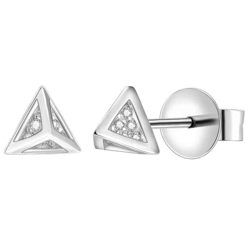 IUN Silver Couture AE013-WW Ohrringe Silber 925 Zirkonia 4260626560036
