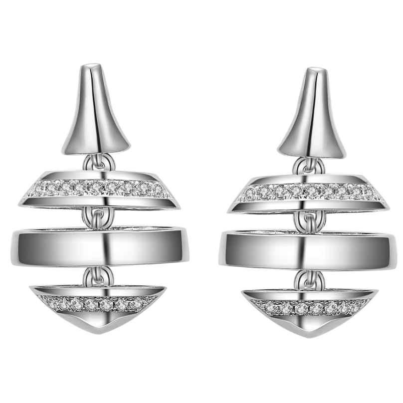 IUN Silver Couture ES00617A1-WW Ohrringe New Wave Silber 925 Zirkonia 4260626560302