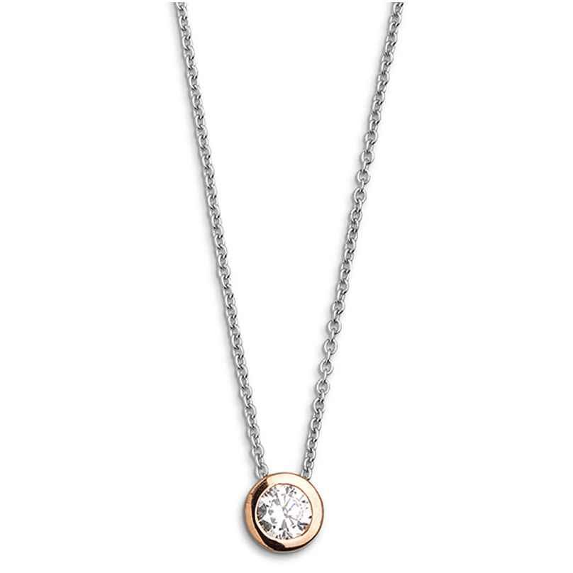 Xenox XS7281R Damen-Halskette Silver Circle Z 9010050007431