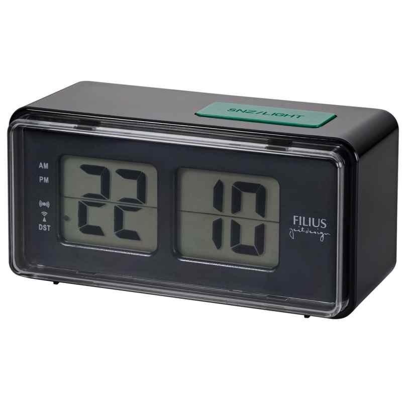 Filius 0530-7 Funkwecker mit digitaler Zeitanzeige 4045346096504