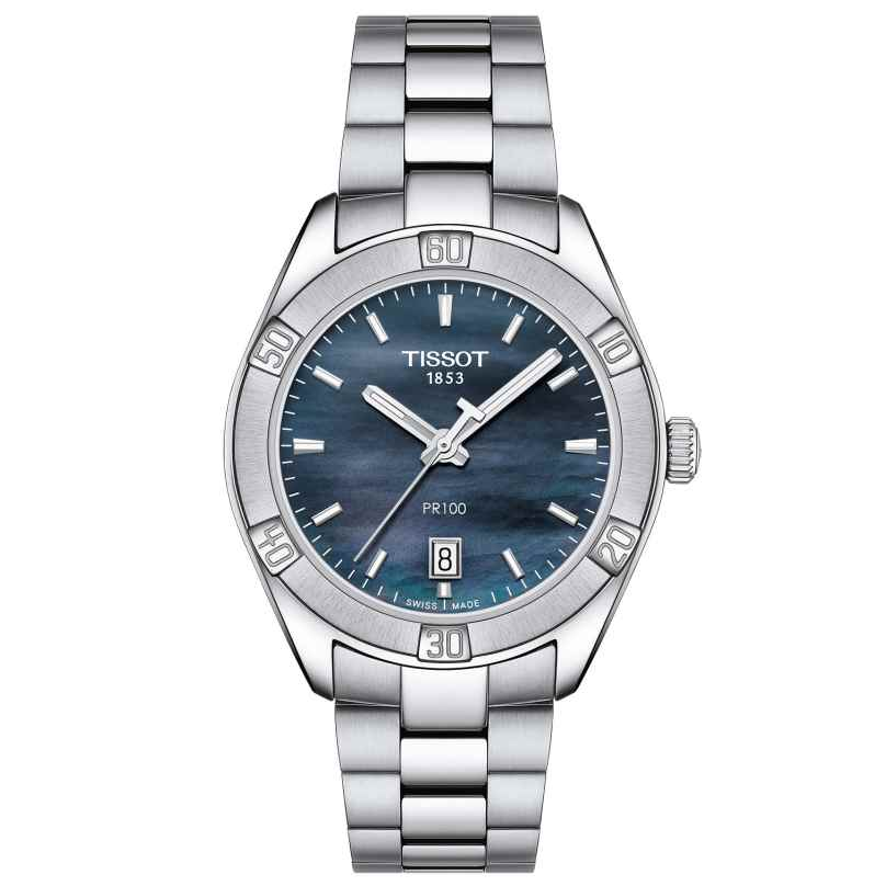 Tissot T101.910.11.121.00 Ladies' Wristwatch PR 100 Sport Chic Lady 7611608284841