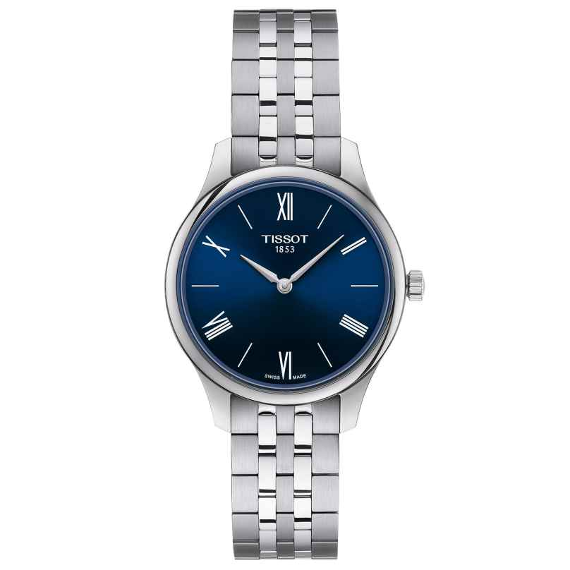 Tissot T063.209.11.048.00 Ladies' Watch Tradition 5.5 Lady Blue 7611608292549