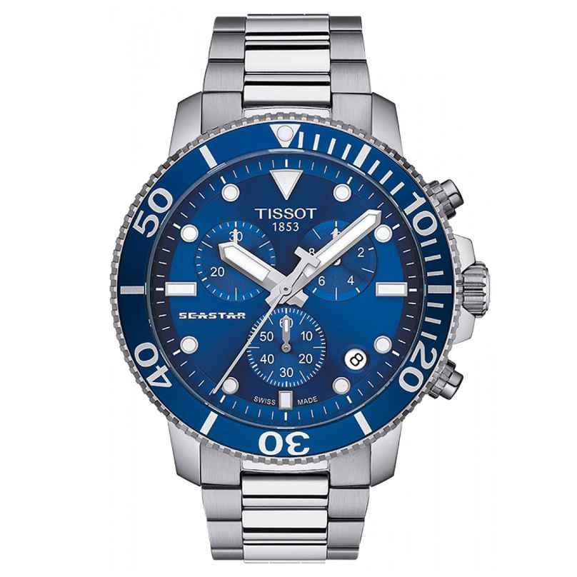 Tissot T120.417.11.041.00 Herren-Taucherchronograph Seastar 1000 Quarz 7611608287620