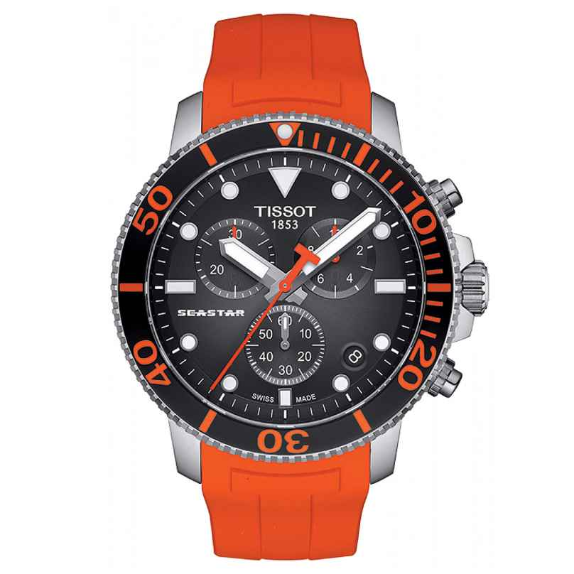 Tissot T120.417.17.051.00 Diver's Wristwatch Seastar 1000 Quartz 7611608290019
