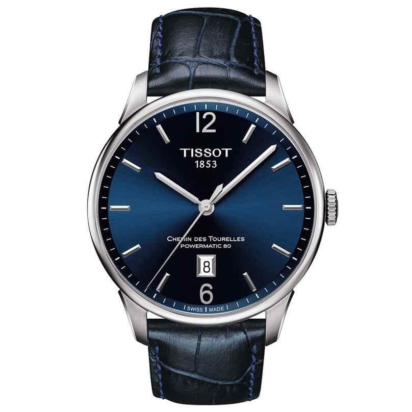 Tissot T099.407.16.047.00 Herrenarmbanduhr Chemin Des Tourelles Automatic 7611608284438