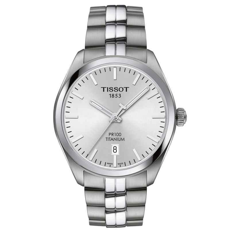 Tissot T101.410.44.031.00 Herrenuhr PR 100 Titan 7611608278482