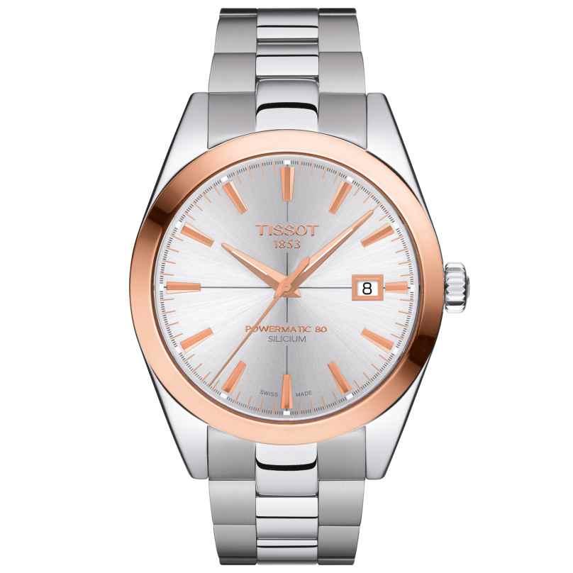 Tissot T927.407.41.031.00 Men's Watch with Gold Bezel Gentleman Automatic 7611608290576