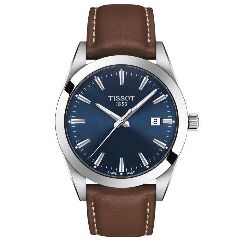Tissot T127.410.16.041.00 Herrenuhr Gentleman Quarz 7611608292754
