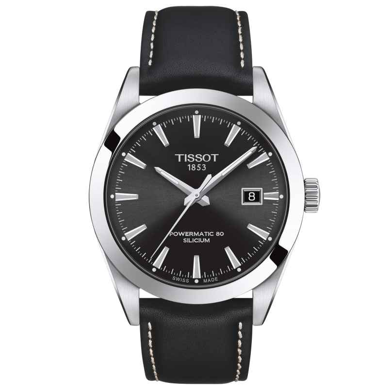 Tissot T127.407.16.051.00 Herrenuhr Gentleman Powermatic 80 Silicium 7611608292730